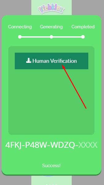 bot protection webkinz code
