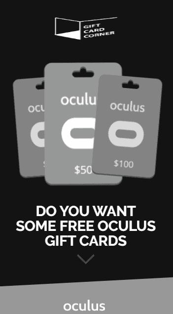 oculus generator promo code