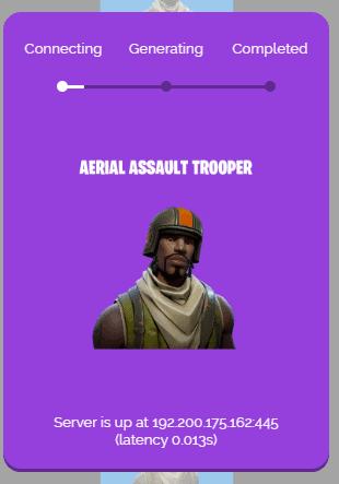 aerial assault trooper process