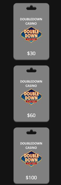 Doubledown promo code value