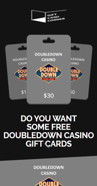 Doubledown promo codes generator
