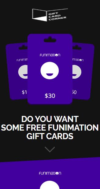 Funimation gift card generator