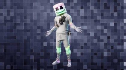free Marshmello skin in Fortnite