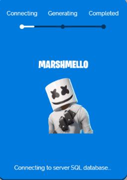 Marshmello skin process