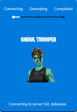 ghoul trooper generator process