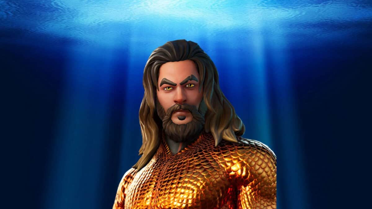 free aquaman skin in fortnite