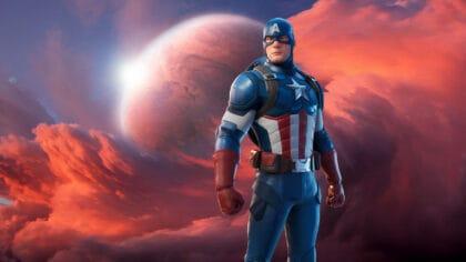 free captain america skin fortnite
