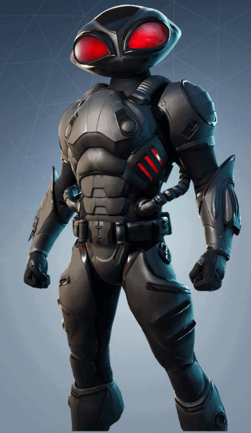 black manta skin fortnite