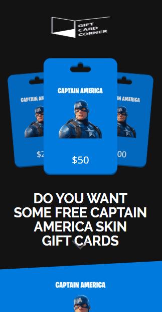 captain america generator