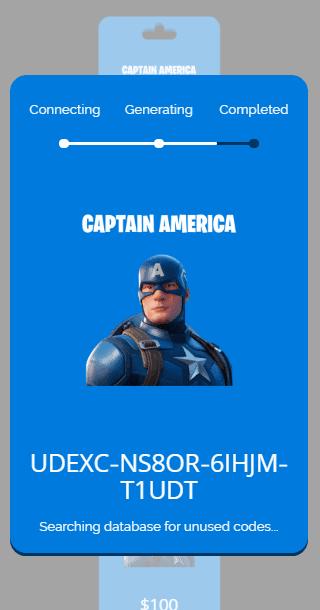 captain america process