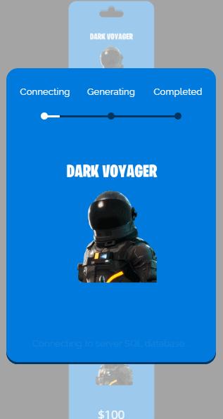 dark voyager process