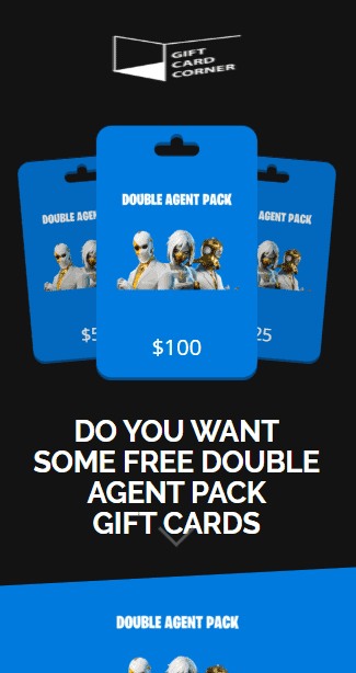 double agent pack generator
