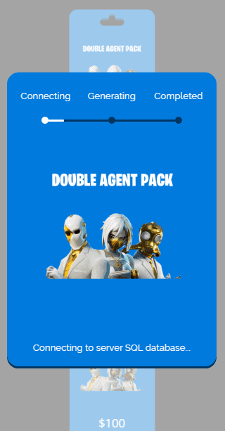 double agent pack process
