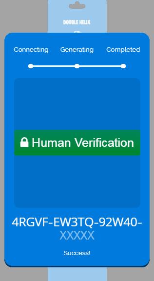 double helix verification