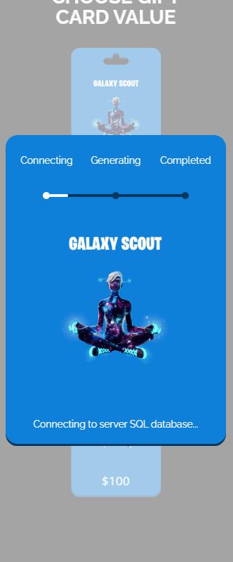 galaxy scout process