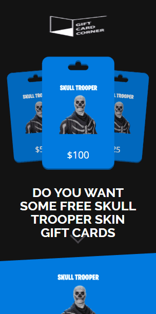 skull trooper skin generator