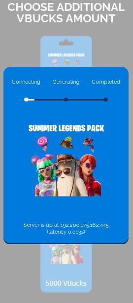 summer legends pack process