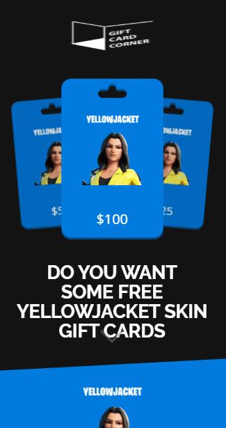 yellowjacket skin generator