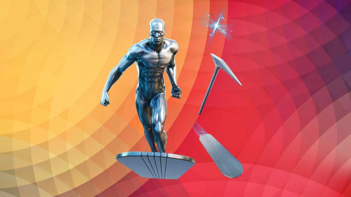 silver surfer bundle fortnite for free