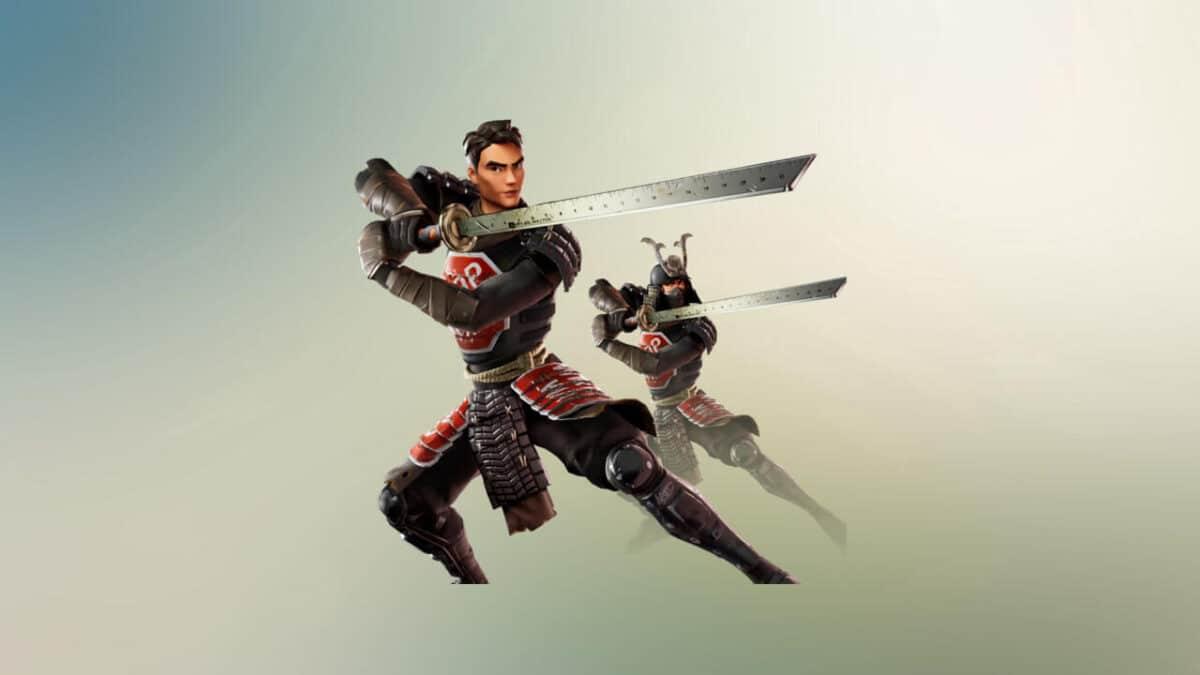 how to get samurai scrapper pack in fortnite
