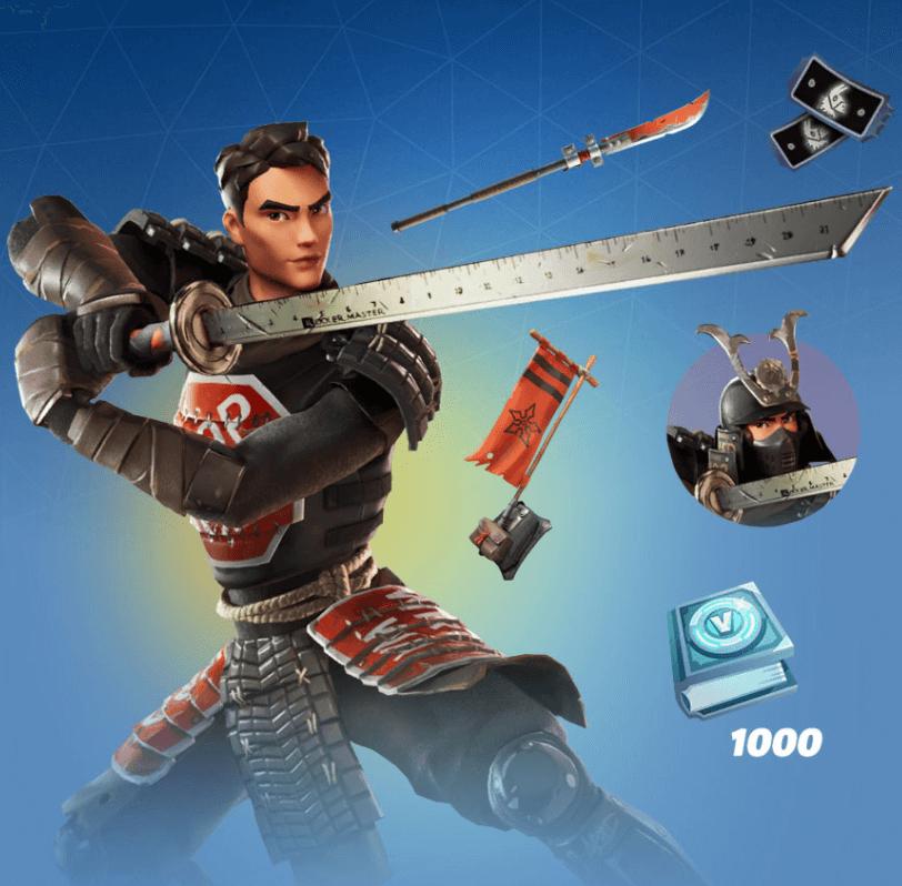 samurai scrapper pack bundle fortnite
