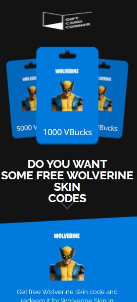 wolverine skin generator