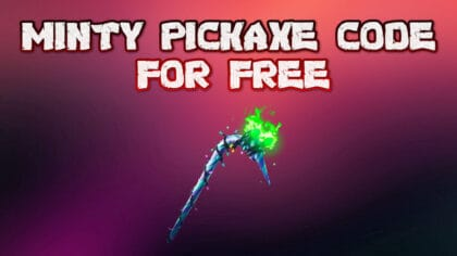 minty pickaxe code 2021