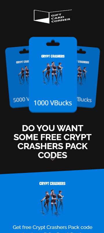 crypt crashers pack generator