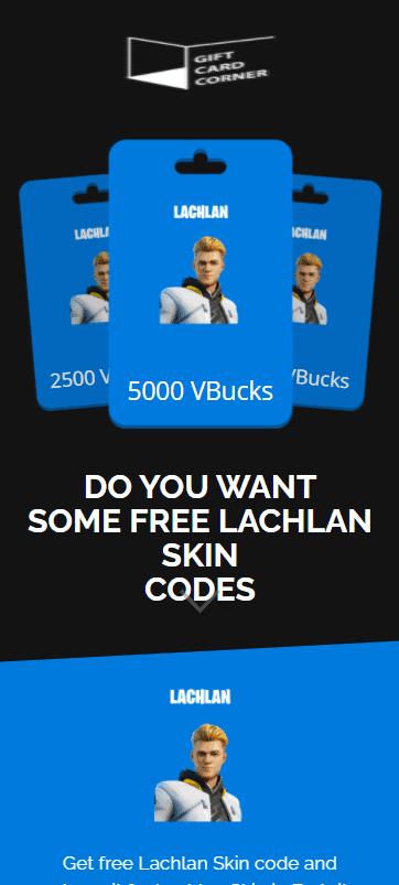 lachlan skin code generator