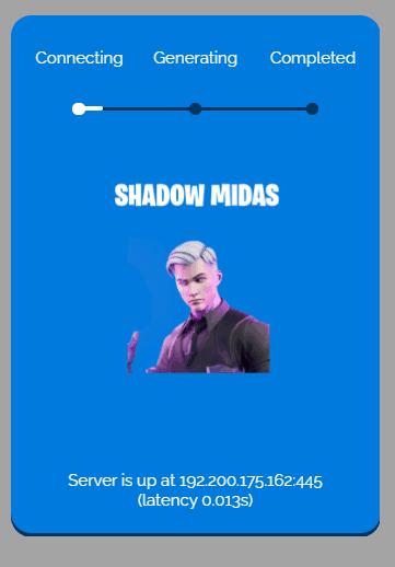 shadow midas process