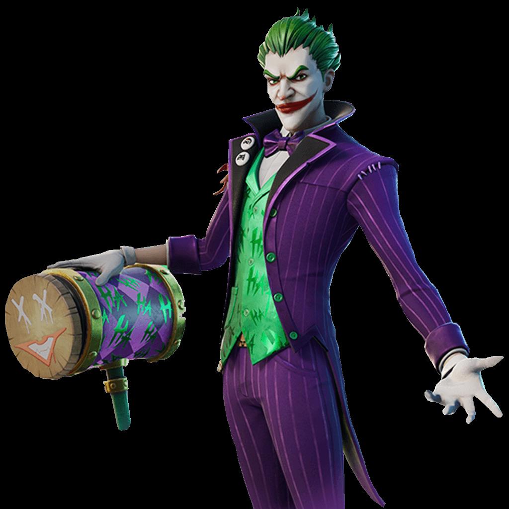 the joker skin fortnite