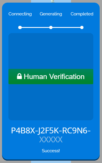 Joker bundle code verification.