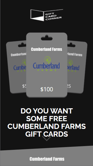 This is the initial layout of the generator for the Cumberland Farms gift card.
