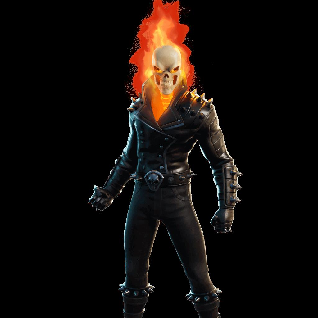 ghost rider skin fortnite rare