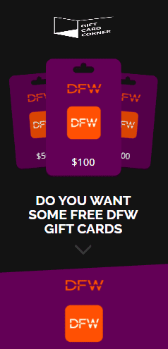 DFW gift card