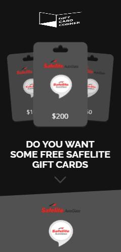 Safelite gift card